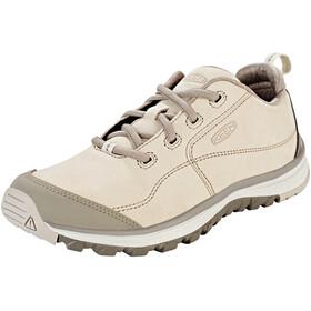 Keen Terradora Leather Sneakers Women Pure Cashmere/Brindle